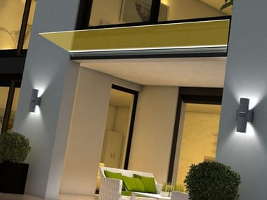 Transparent glass texturized for Led lighting Madras® PUNTO XL-N CRISTALLI