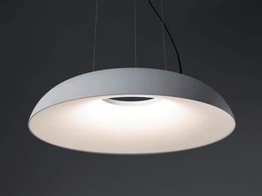 Lampada a sospensione in alluminio e metacrilato MAGGIOLONE | Lampada a sospensione