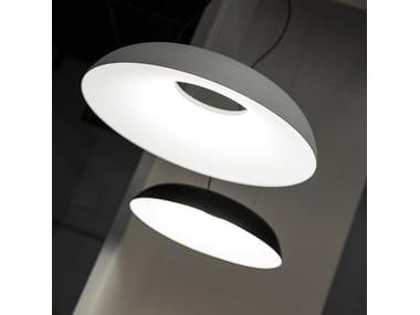 Aluminium pendant lamp with dimmer MAGGIOLONE