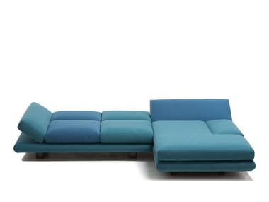 Corner convertible fabric sofa MAGIC