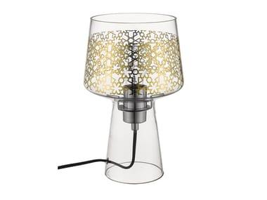 Lampada da tavolo in vetro soffiato MAGIC | Lampada da tavolo