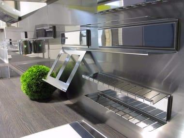 Metal Kitchen backsplash MAGNETIKA KITCHEN