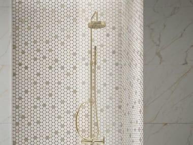 Mosaico in ceramica MAGNIFICA | Mosaico Circle Cal. Gold
