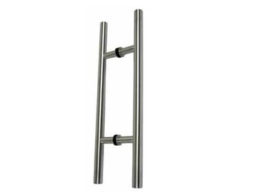 Stainless steel pull handle with Lock MAGNUM