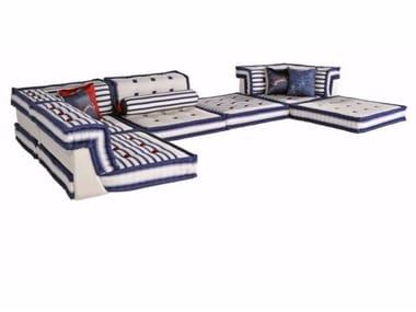 Sectional recliner sofa MAH JONG | Recliner sofa