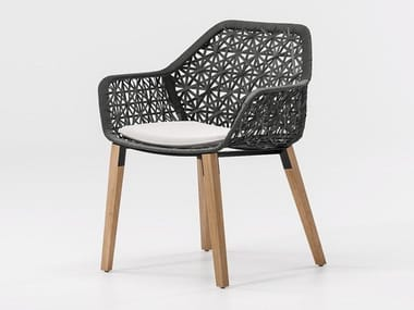 Garden chair with armrests MAIA | Chair