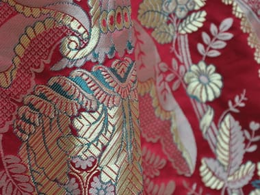 Damask fabric with floral pattern TASSINARI & CHATEL - MAINTENON