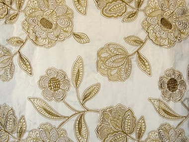 Fabric with floral pattern MAJESTIC