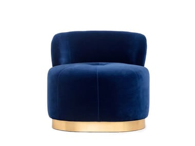 Velvet easy chair MAJESTIC | Armchair