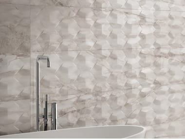 White-paste 3D Wall Cladding with marble effect MAJESTIC | 3D Wall Cladding with marble effect