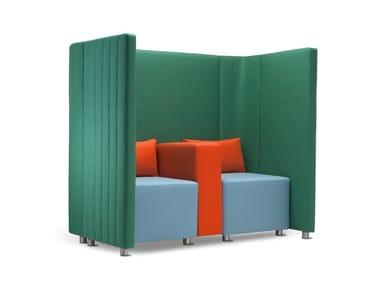 Sectional high-back leisure sofa MAJI SISTEMA 1