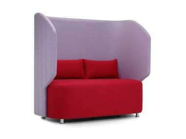 2 seater high-back leisure sofa MAJI | High-back sofa