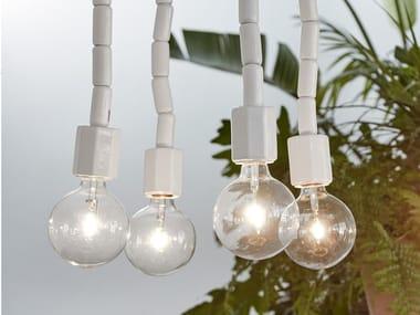 Lampada a sospensione a LED in ceramica MAKE-UP | Lampada a sospensione