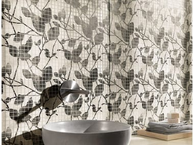 White-paste mosaic MAKU   Mosaic