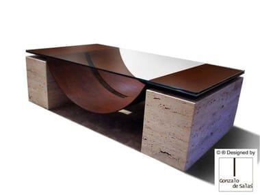 Glass coffee table MALLORCA