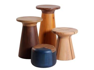 Sgabelli da giardino in legno massello archiproducts