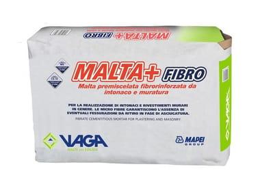 Malta premiscelata a secco per murature e intonaci MALTA+ FIBRO