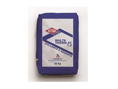 Collante e rasante a base minerale colore grigio MALTA THERM.AT 1.2