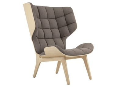 High-back fabric armchair MAMMOTH | Fabric armchair