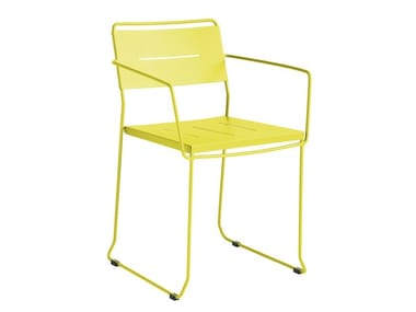 Garden chair with armrests MANCHESTER | Chair with armrests