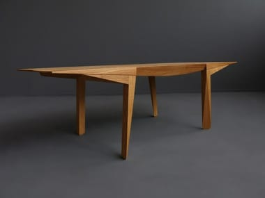 Solid wood coffee table MANGATA