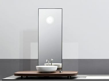 Specchio da appoggio per bagno MANHATTAN | Specchio