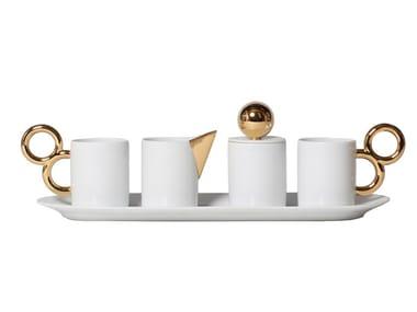 Porcelain espresso service MANIÈRISTE | Espresso Service