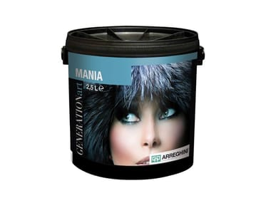 Water-based decorative painting finish with metallic effect with shimmer effect MANIA