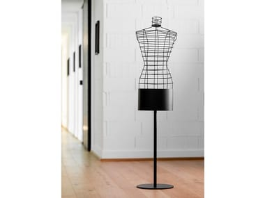 Floor-standing towel warmer with remote control MANNEQUIN