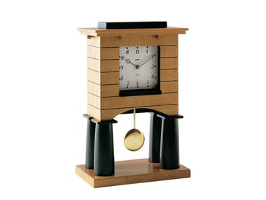 Pendulum table-top wood veneer clock MANTEL CLOCK