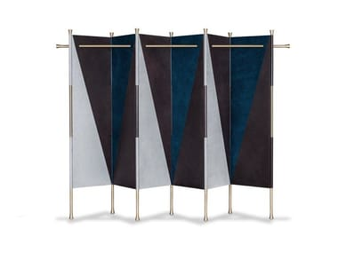 Leather Screen MANTICE | Room divider