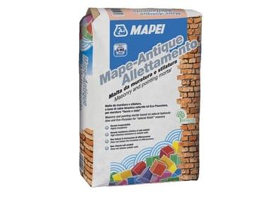 Malta da muratura resistente ai sali MAPE-ANTIQUE ALLETTAMENTO