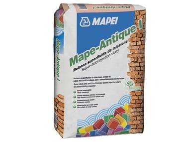 Masonry consolidation MAPE-ANTIQUE I