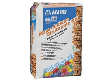 Masonry consolidation MAPE-ANTIQUE STRUTTURALE NHL