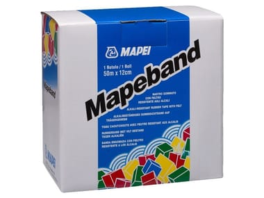 Tape and joint for waterproofing MAPEBAND
