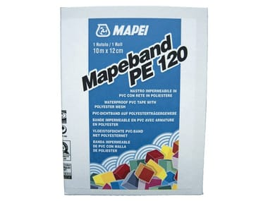 Tape and joint for waterproofing MAPEBAND PE 120