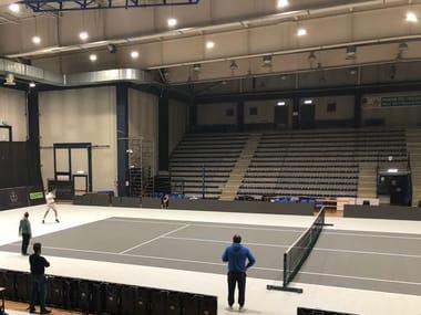 Pavimento deportivo para los campos de tenis MAPECOAT TNS REMOVE