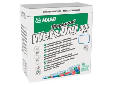 Finitura antiscivolo per pavimentazioni resilienti MAPECOAT WET & DRY R11