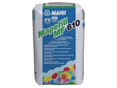 Malta e betoncino per il ripristino MAPEFILL MF 610