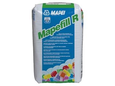 Malta fluida espansiva ad indurimento rapido per ancoraggi MAPEFILL R