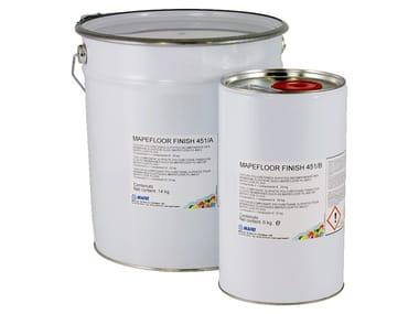 Finitura poliuretanica bicomponente alifatica MAPEFLOOR FINISH 451