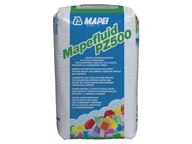 Superfluidificante per calcestruzzi MAPEFLUID PZ500