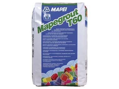 Malta tissotropica fibrorinforzata per ripristini MAPEGROUT T60