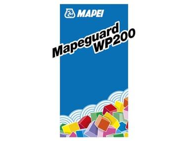 Membrana impermeabilizzante e antifrattura MAPEGUARD WP 200