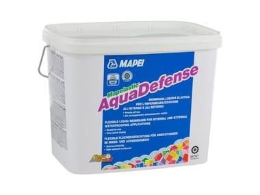 Membrana liquida per impermeabilizzazione fuori terra MAPELASTIC® AquaDefense