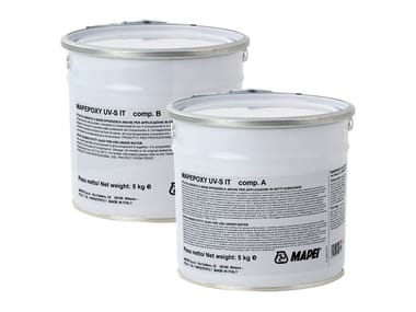 Gypsum and plaster MAPEPOXY UV-S IT