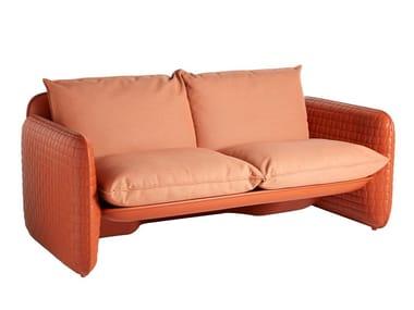 Divano / divano da giardino in polietilene MARA | Divano