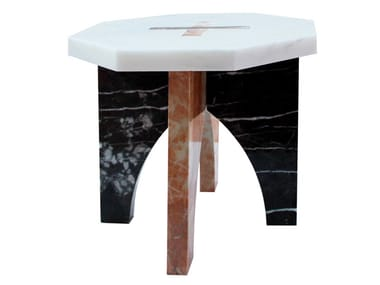 Low marble coffee table MARAH | Marble coffee table