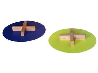 Round metal tray MARAH REVERSE | Tray