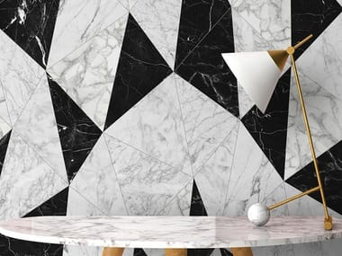 Industrial and modern wallpaper, PVC free, eco, washable MARBLE VEST